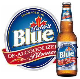 Labatt Blue De-Alcoholized