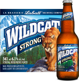 Labatt Wildcat Strong